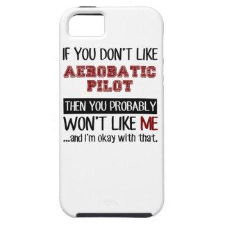 曲技飛行のパイロットのカッコいいを好まなければ iPhone 5 COVER