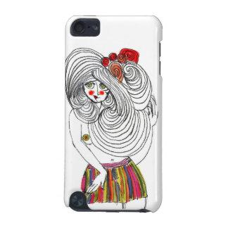 曲線の女の子 iPod TOUCH 5G ケース