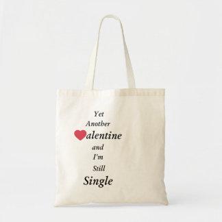 更に別のバレンタインおよび私はまだ独身のです トートバッグ