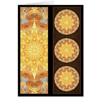 更新の曼荼羅のしおりカード カード