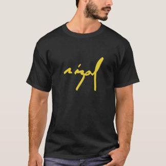 書かれるホセRizal Tシャツ
