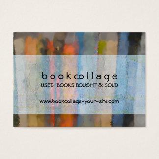 書店の本販売人の名刺 チャビ―名刺