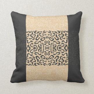 書道のデザインはっきりしたなデザイナー枕 クッション