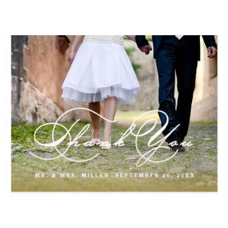 書道の原稿の結婚式は郵便はがき感謝していしています ポストカード