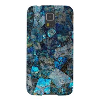 曹灰長石の宝石のSamsungの芸術品を気取ったで抽象的な銀河系S5 Galaxy S5 ケース