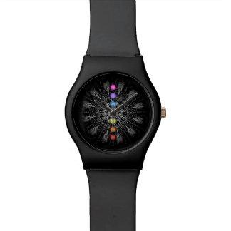 曼荼羅のチャクラの腕時計 腕時計