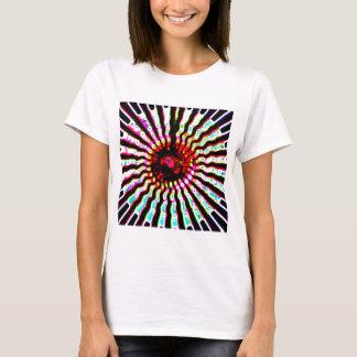 曼荼羅のチャクラの輝き Tシャツ