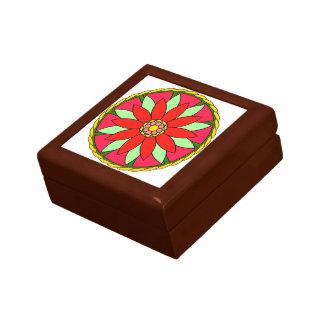 曼荼羅のデザインのギフト用の箱 ギフトボックス