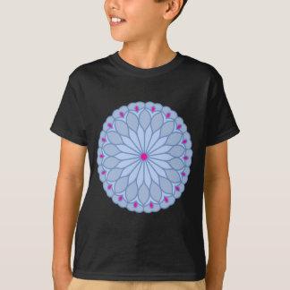 曼荼羅の刺激を受けたなタマキビの花 Tシャツ