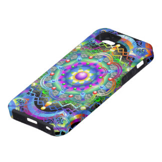 曼荼羅の宇宙色 iPhone SE/5/5s ケース