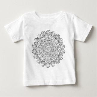 曼荼羅の服装 ベビーTシャツ
