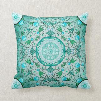 Balance of Nature Healing Mandala Pillow