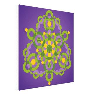 曼荼羅の概念 キャンバスプリント