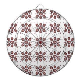曼荼羅の花模様 ダーツボード