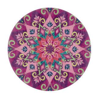 曼荼羅の開花 カッティングボード