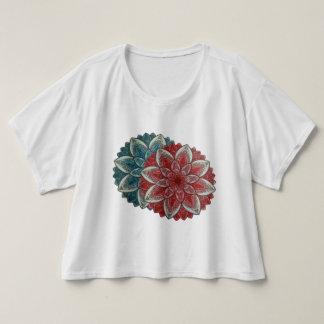曼荼羅の開花 Tシャツ
