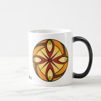 曼荼羅の黙想のマグ マジックマグカップ
