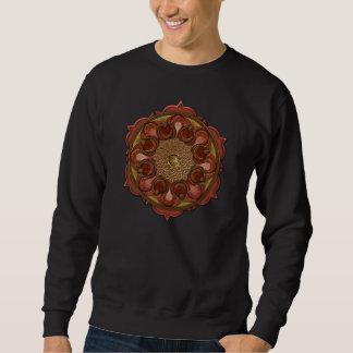 曼荼羅はTシャツを炎にあてます スウェットシャツ