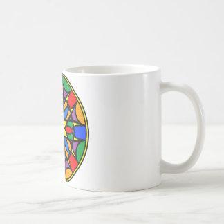 曼荼羅11の夢のキャッチャーのcoloer版 コーヒーマグカップ