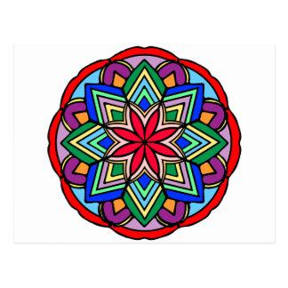 曼荼羅52 star.flower色版 ポストカード