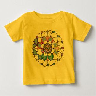 曼荼羅 ベビーTシャツ