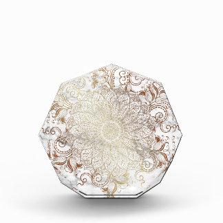 曼荼羅-金ゴールド及び大理石 表彰盾