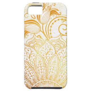 曼荼羅-金ブラシ iPhone SE/5/5s ケース
