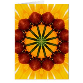 曼荼羅-黒目のスーザン カード