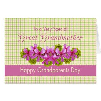 曾祖母の庭 カード