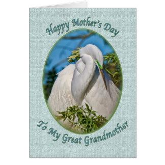 曾祖母の母の日カード グリーティングカード