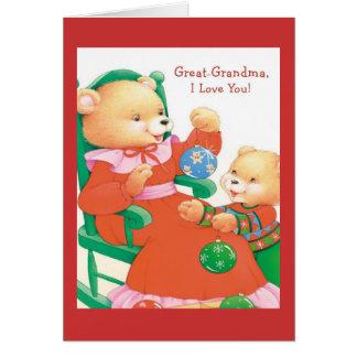 曾祖母I愛 カード