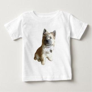最もかわいいケアーン・テリア!  トトよりかわいい! ベビーTシャツ