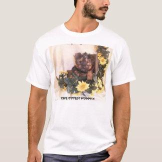 最もかわいい子犬!!!! Tシャツ