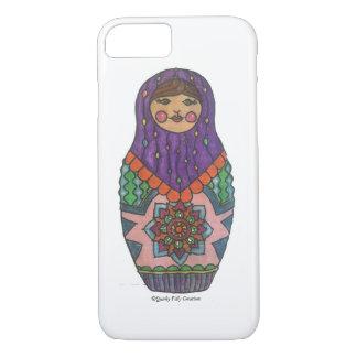 最もかわいいMatryoshkaの人形の電話箱! iPhone 8/7ケース