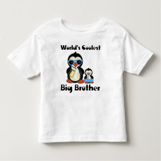 最もクールなお兄さんのペンギン トドラーTシャツ