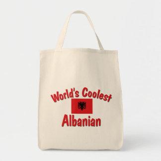 最もクールなアルバニア語 トートバッグ
