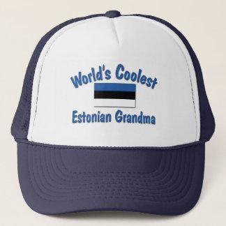 最もクールなエストニア語の祖母 キャップ