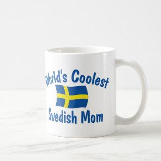 最もクールなスウェーデンのお母さん コーヒーマグカップ