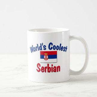 最もクールなセルビア人 コーヒーマグカップ
