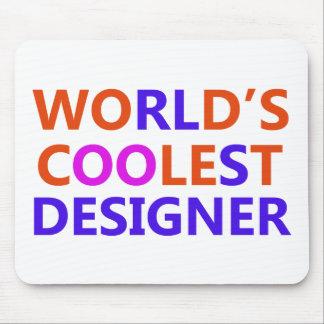 最もクールなデザイナー マウスパッド