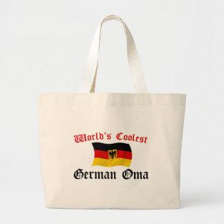 最もクールなドイツ語Oma ラージトートバッグ