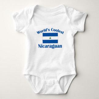 最もクールなニカラグア人 ベビーボディスーツ