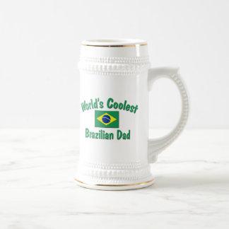 最もクールなブラジルのパパ ビールジョッキ