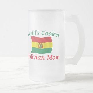 最もクールなボリビアのお母さん フロストグラスビールジョッキ