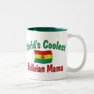 最もクールなボリビアのママ ツートーンマグカップ