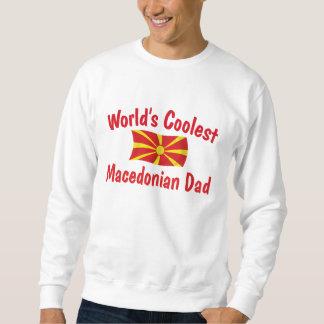 最もクールなマケドニアのパパ スウェットシャツ