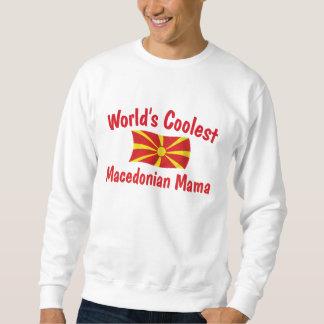 最もクールなマケドニアのママ スウェットシャツ