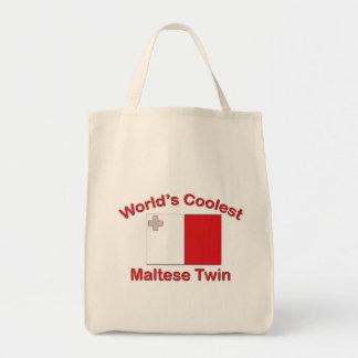 最もクールなマルタの双生児 トートバッグ