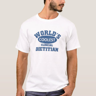 最もクールな臨床栄養士 Tシャツ