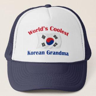 最もクールな韓国の祖母 キャップ
